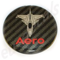 75mm/2.95inc SAAB 900 NG models without decor panel Carbon Red Chrome SAAB JET Aero Hood badge 3D decal